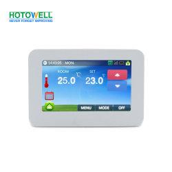 スマートなカラータッチ画面のヒートコントロールの電子デジタル温度調節器