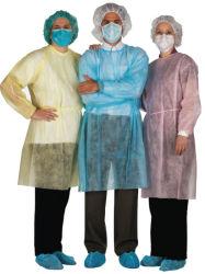 Nichtgewebtes chirurgisches Kleid, Spunlace chirurgisches Kleid, pp.-chirurgisches Kleid