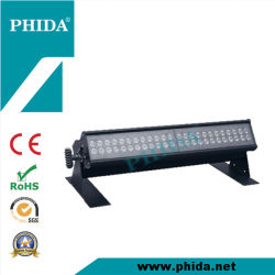 우량한 Quality RGBW 48*3W LED Color 변경자 Square, LED Ground Row, LED Wash Light, Sycloroma Wash, Cuitain Lighting, Horizon Light