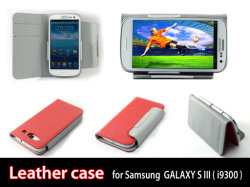حقيبة جلدية كلاسيكية لـ Samsung Galaxy S3/I9300