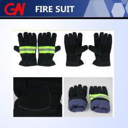 Горячая продажа пожарных перчатки для тушения пожара