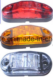 2,5 pouces de côté LED Feu de position du marqueur