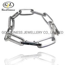 カスタマイズされた方法OEMのイエロー・ゴールドのめっきされた合金の真珠の宝石類のネックレス
