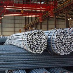 Barra di acciaio deformato laminato a freddo/a caldo calcestruzzo di rinforzo a nastro in acciaio deformato Barra per costruzioni da China Mills