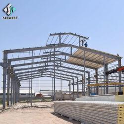 Progetti di alta qualità della costruzione di edifici della struttura d'acciaio di basso costo