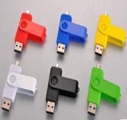 Le nouveau téléphone Mobile Commerce de gros ordinateur double disque U 4G disque métal double interface USB OTG Mobile Storage