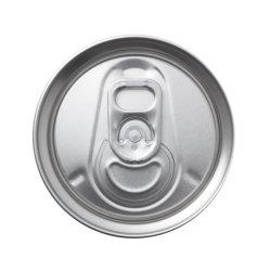 200 colore personalizzato aperto facile di spessore del coperchio di tiro dell'anello dei coperchi della latta di alluminio del Sot 0.18mm