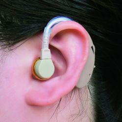 초로 청각 장치 (F-138) 청력 감소를 위한 축삭 Bte 보청기