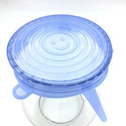 Kundenspezifischer Umweltschutz-Silikon-frische Nahrungsmitteldeckel für Filterglocken