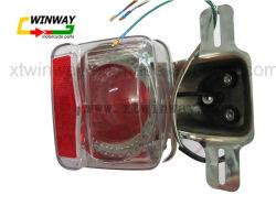 Ww-7107 CG125 Pièces de moto de feu arrière de frein