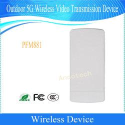 Dahua 3km à l'extérieur de la transmission vidéo sans fil 5G périphérique CPE (PFM881)