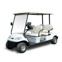 سعر جيد 4 مقاعد كهربائية لعبة غولف عربة إمداد