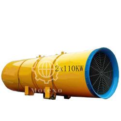 De mijn Een tunnel gravende As Geleide Ventilators en de Ventilators van de Ventilatie