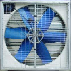 36 '' lecteur direct, ventilateur d'extraction galvanisé de cadre de tourbillon de 6 lames