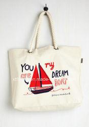 Мода Eco-Friend хлопок Canvas Bag сумки женская сумка с хлопок трос ручки