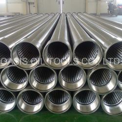 China de acero inoxidable AISI 304L 316L de agua continua y el tamiz de la ranura del tubo de pantalla