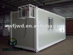 유전 야영지 탄광 지역을%s Prefabricated 콘테이너 집