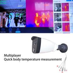 *Sk-256dt Novíssimo IP HD 1080p com alta qualidade de imagem térmica e cor real detectar rapidamente rostos anormal