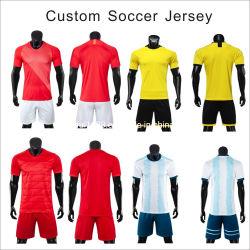 Douane Uw Voetbal Jersey van de Club van 2021 van de Slijtage 2020 van de Sporten van Madrid van het Overhemd van de Voetbal van de Kwaliteit van de Mensen van het Aantal van het Embleem van de Naam van het Team van Liverpool Echt Thais