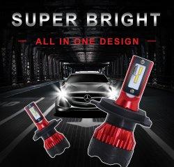 S1 K5極度のBrillante LED CocheファロH4/H3/H7/9005/9006