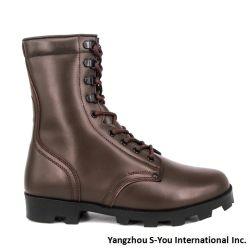Botas de homem militar táctico de fábrica personalizado Preto botas militares