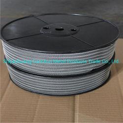Silikon-Klipp-Kleber-Klipp-Nahrungsmittelstandard-Wurst-Verpackungs-Gebrauch-Aluminium 18-09