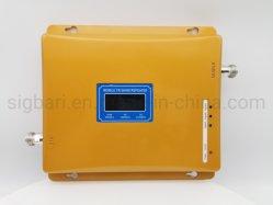 Banda tripla amplificador de sinal de design moderno GSM, DCS WCDMA 900&1800&2100 MHz GSM Lte Repetidor de 3G