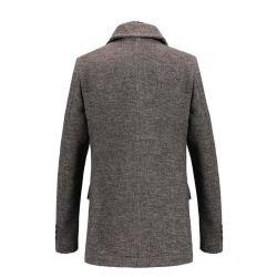 Planície de lã de inverno de alta qualidade fina para homens