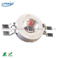Colore doppio bianco/rosso SMD LED Plcc4 4pins del diodo compiacente di alto potere LED di RoHS