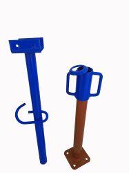 핫 셀링 건설 갈바니ized Steel Adjustable Height Steel shoring Props 포름워크 시스템용 잭