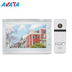 """Video Doorphone di obbligazione domestica di memoria del video citofono 10 di HD """""""