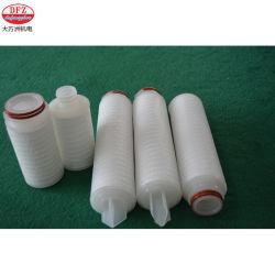 En acier inoxydable fritté Dafangzhou poreux cartouche de filtre de pliage du métal des éléments de filtre plissé 10 20 30 40 pouces