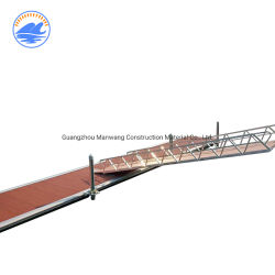 Topverkopers in China Aluminium Dock Gangway ramp for Floating Dock Pontoon