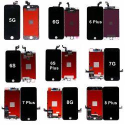 قطع الغيار عرض السعر شاشة LCD تعمل باللمس تجميع جهاز الالتقاط لـ iPhone 5 5s 5c 6 6s Plus 7 8 Plus SE 2020 6g 7g 8g