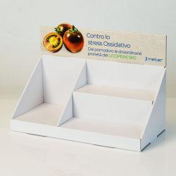 Promoção dos Produtos de impressão personalizado Contador Pop PDQ Caixa de Exibição de cartão