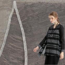 La Chine usine Super Doux beau tissu de coton imprimée 50% Soie 50% coton fils teints ordinaire léger imprimé numérique de 12 mm de tissu de coton de soie pour robe de la jupe