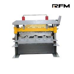 لوح ألواح حلفرة من الصلب منقلّة إسمنتية لوح الأرضية منصة رفع تشكيل الماكينة بنظام التحكم PLC