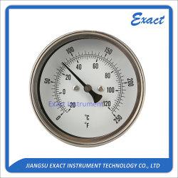 Aller Edelstahl-Thermometer - bimetallischer Thermometer - Ofen-Thermometer