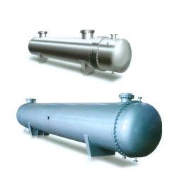 熱オイルおよび水用シェルおよびチューブ熱交換器 熱伝導