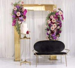 Boog van de Gouden bruiloft van Athena van de Decoratie van het Huwelijk van de Ambacht van Amina de Gouden voor de Huur van de Partij