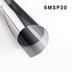 Janela metalizado Tint película de segurança Vlt30%