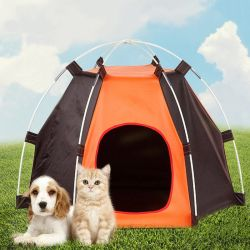 Outdoor Pet tente robuste rabattable Portable Chiens Chats lit Camping Maisons Pet Voyage