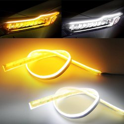 DRL 60cm 주간 야간 항행등 유연한 연약한 관 가이드 차 LED를 위한 지구 빛