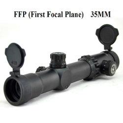 Werkingsgebied 35mm van de Optica Ffp van Visionking Compact het Ontspruiten van het Kanon van de Karabijn van het Gezicht van de Sluipschutter van de Jacht van de Buis Werkingsgebied met Toebehoren (1-10X30 FFP)