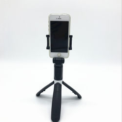 L01 OEM Suporte tripé Monopod Extensível Selfie Stick Bluetooth sem fio