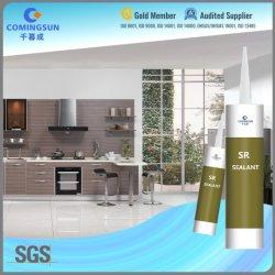Glass/PVC Sealing를 위한 최고 Acetic Clear RTV Silicone Adhesive Glue