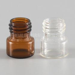 Bottiglia di vetro dell'olio essenziale dell'estetica delle fiale