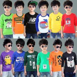 Mix Style T-shirt voor kids met lange mouwen (H19-24)