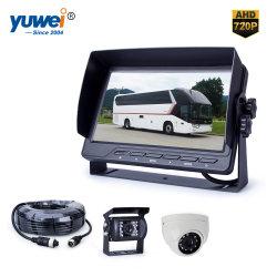 CCTV, der Kamera-System mit Monitor 7-Inch, hohe Auflösung 720p 1080P aufhebt, imprägniern Vorderseite Nachtsicht CCD-CMOS u. Abdeckung-Kamera