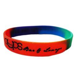 La qualité du son bracelet en silicone personnalisé avec logo Logocustom en caoutchouc de silicone Bracelet Bracelet de mariage pour les hommes (66)